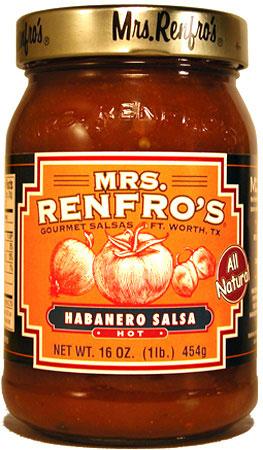 Mrs. Renfro's Habanero Gourmet Salsa