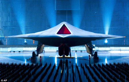 UK Taranis Unmanned Stealth Drone Prototype