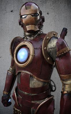 Steampunk Iron Man Custome