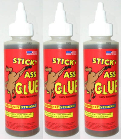 Sticky Ass Glue Urethane Adhesive