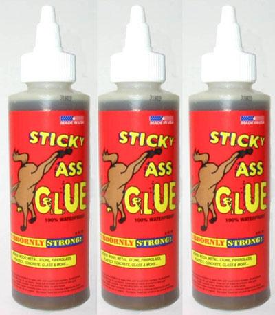 Sticky Ass Glue Urethane Adhesive