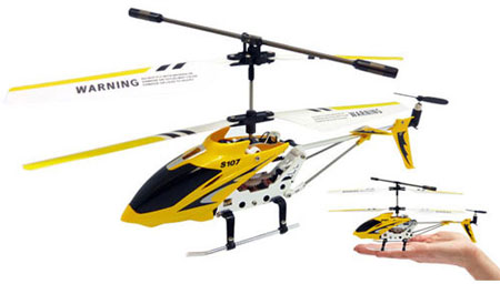 Syma S107 Wireless Remote Helicopter