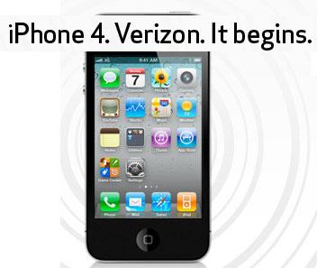 Verizon iPhone Preorder Feb 2010