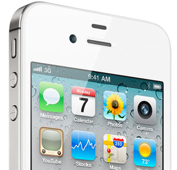 iPhone in White