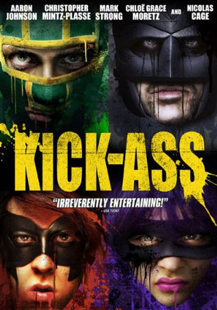 Kick-Ass DVD Jacket
