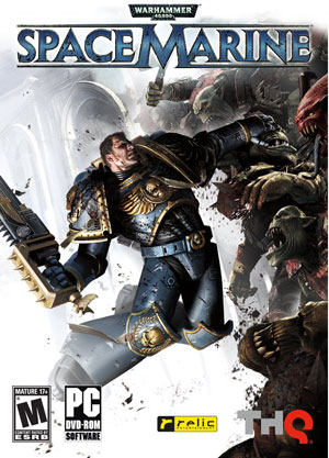Warhammer 40K Space Marine Cover