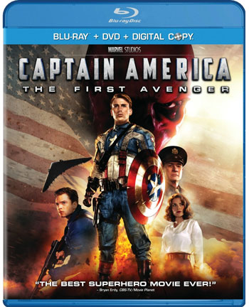 Captain America Blu-Ray Cover