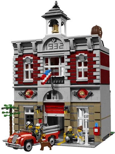 Lego Fire Brigade 10197 Modular Building