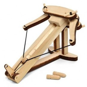 Wooden Ballista Kit is Perfect for Cubicle Warfare!