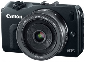Canon EOS-M 18MP Mirrorless Camera