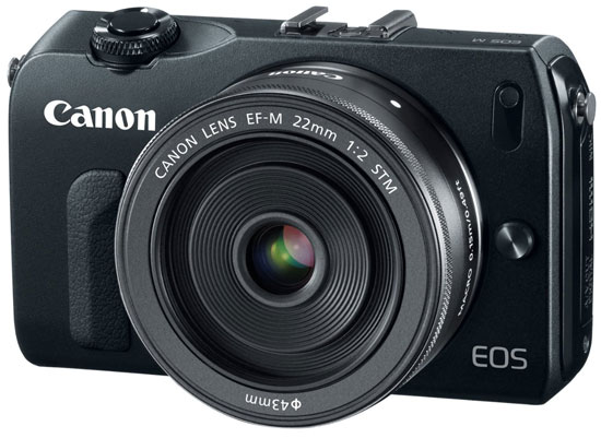 Canon EOS-M Mirrorless Camera