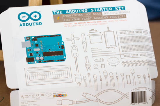 Arduino Starter Kit Box Outside