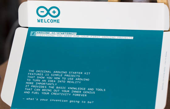 Arduino Starter Kit Message