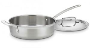 Cuisinart MultiClad Stainless Steel Saute Pan