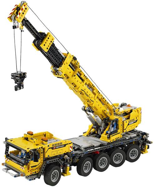 Review: LEGO Technic Crane MK II, 42009